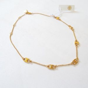 NWT Tory Burch Delicate Necklace
